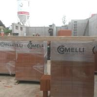 Wir bauen mit Ziegeln der Firma Comelli!